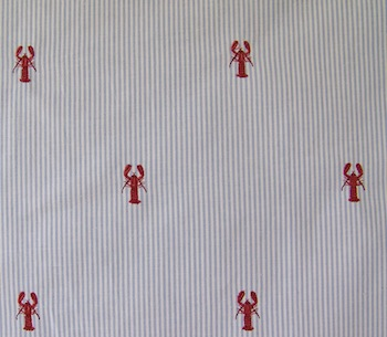 Looking for Lobster fabric? | Boothbay Register