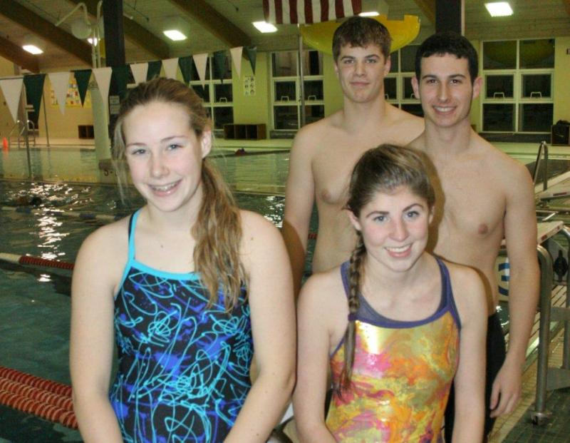Brhs Swimmers Compete Independently Boothbay Register