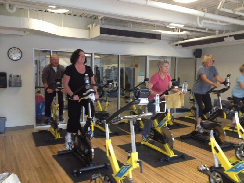 Spinning to better fitness | Boothbay Register