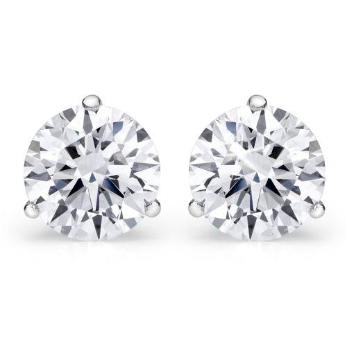 Beautiful Diamond Studs Available John Edwards Jewelry Designs