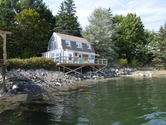 Brilliant Waterfront Cottage Rental Damariscotta Boothbay Register Home Remodeling Inspirations Cosmcuboardxyz