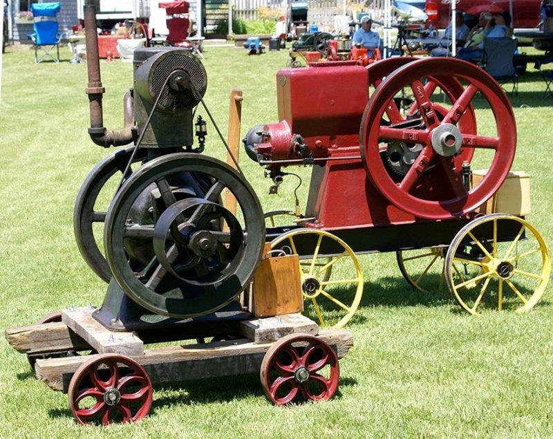 Antique Tractor Shows : Antique tractors and engines at boothbay railway village