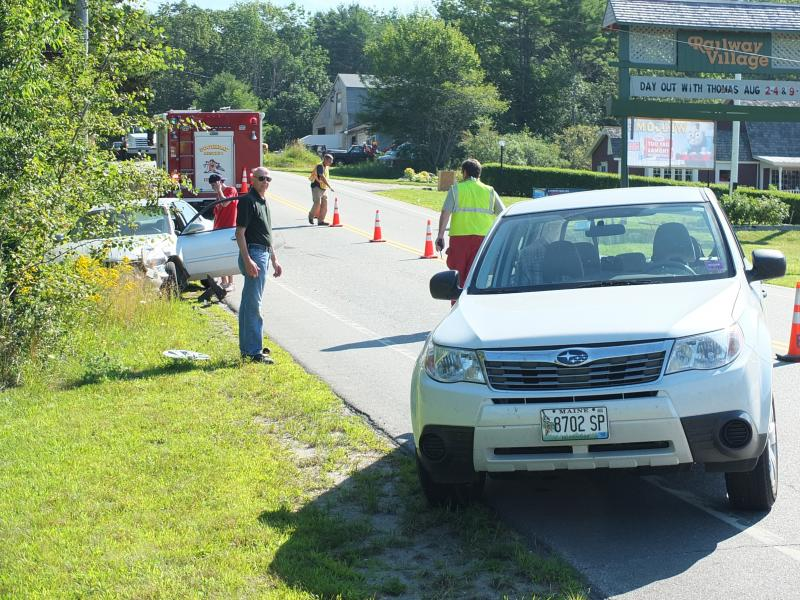 Boothbay Harbor Maine Car Accident August