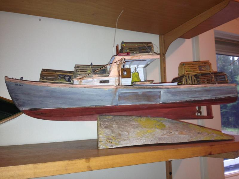 Lobster boat history in white pine and poplar | Boothbay ...