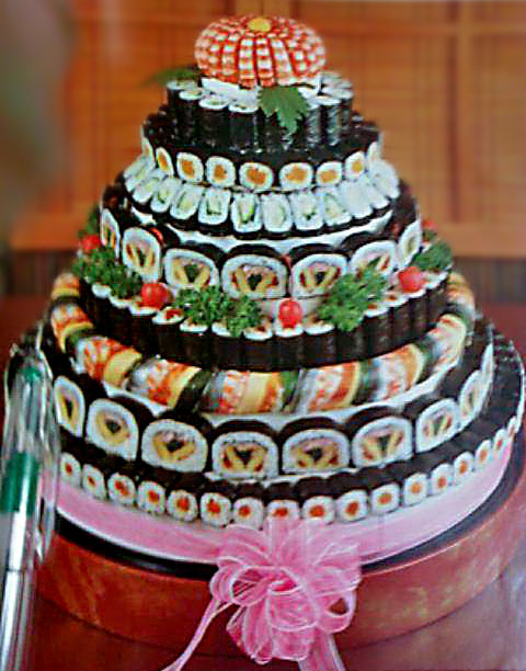 Sushi Cakes Available At Mine Oyster Boothbay Register