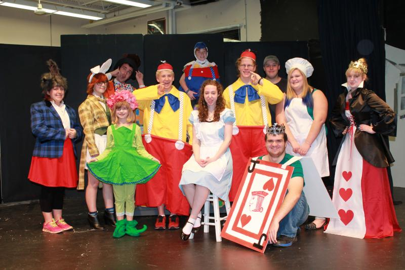 Alice In Wonderland At Brhs This Weekend Boothbay Register