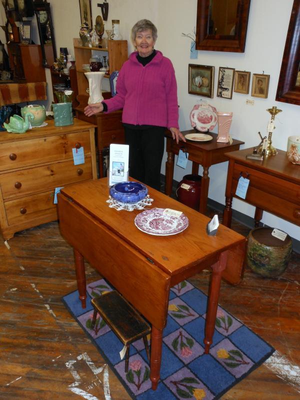 Miriam K. Buckley, Owner Of Damarine Antiques In Damariscotta