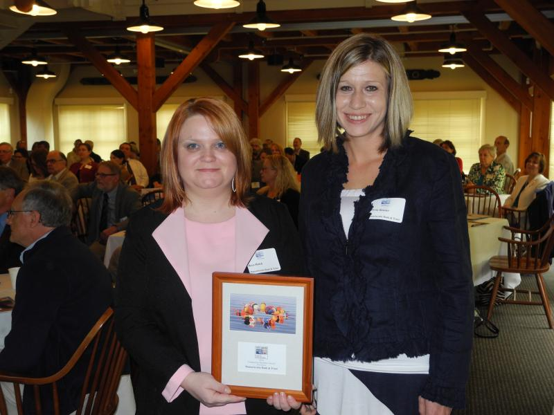 Newcastle Boothbay Harbor Women Elected To Board Bank Honored At