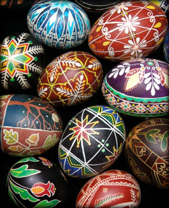 Ukrainian Pysanky Egg Decorating At River Arts Boothbay
