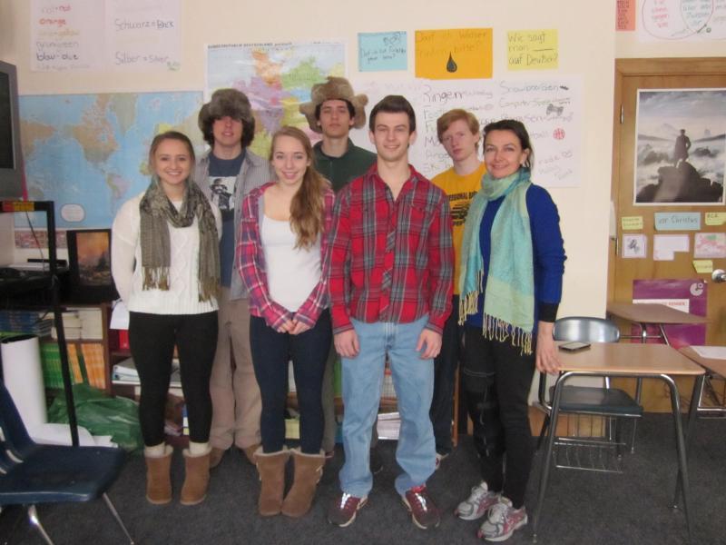 Portion of students from boothbay region high school gapp program