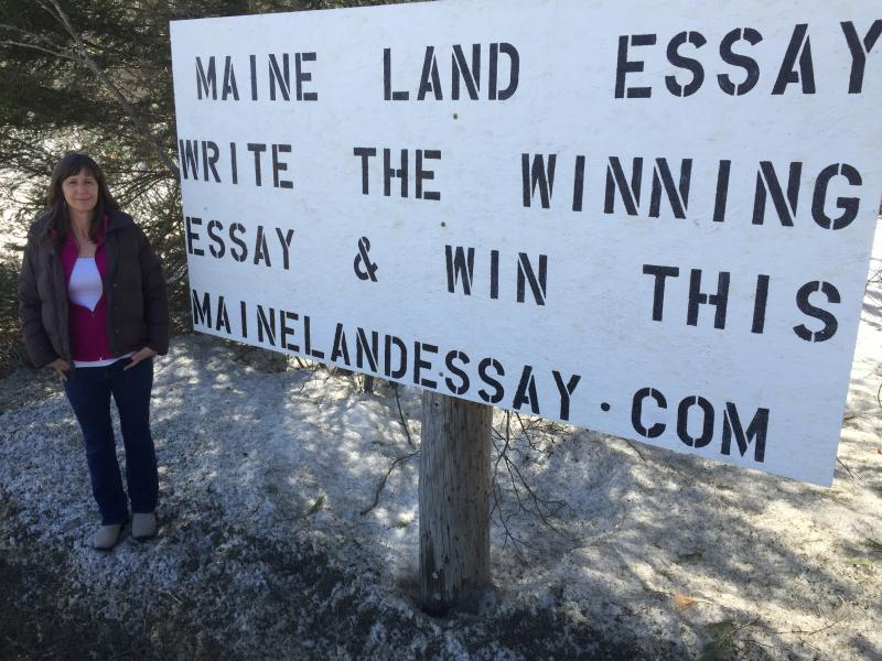 whitefield maine land essay contest
