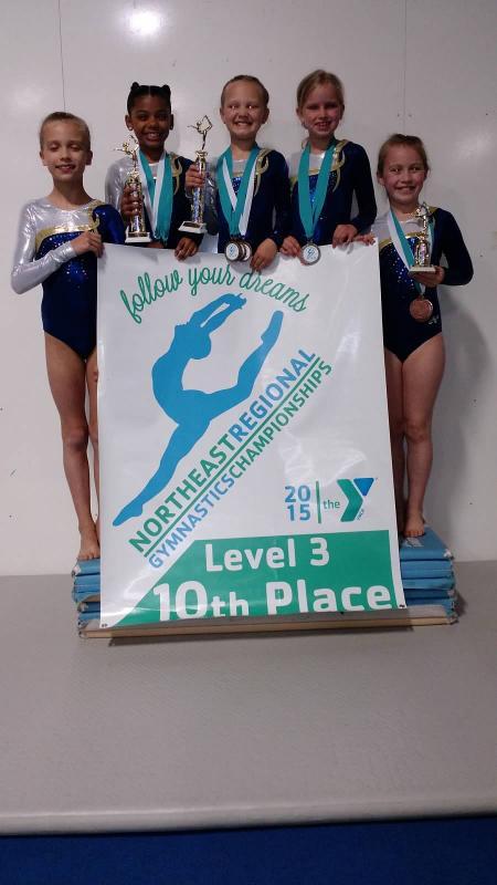 CLC YMCA gymnasts win titles at Northeast Regional ...