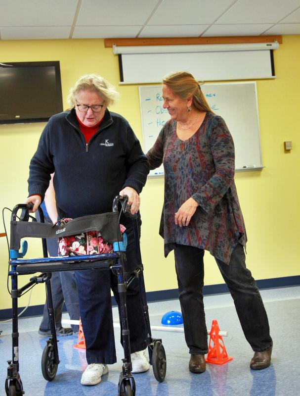 Free balance course helps improve safety | Boothbay Register