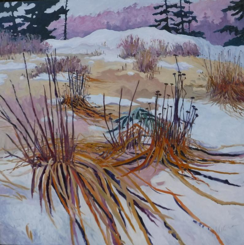 39 Winter Colors 39 Paintings By Andrea Peters At Gardens Aglow Boothbay Register