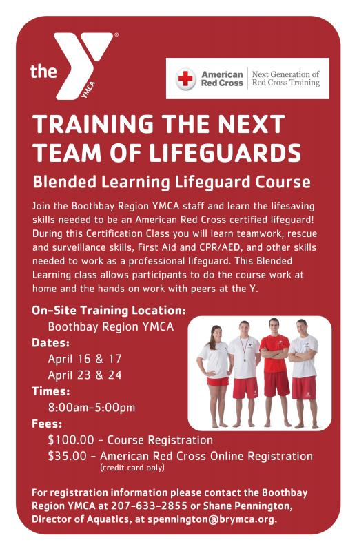 become an american red cross certified lifeguard! | boothbay register