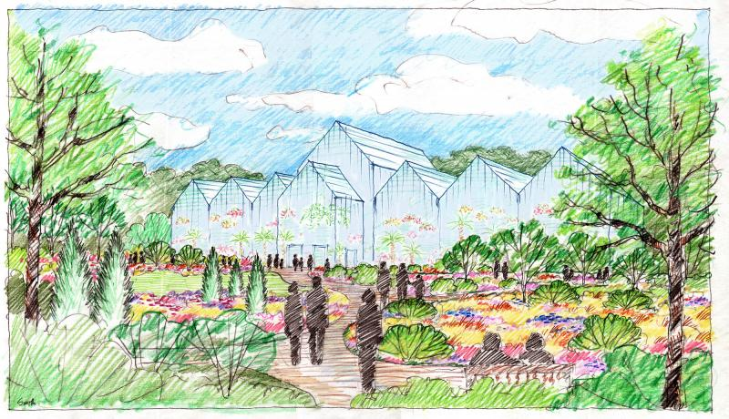 Plans At Coastal Maine Botanical Gardens Include The Construction Of A  20,000 Square Foot Glass Conservatory, Which Would Be The Largest Of Its  Kind In New ...