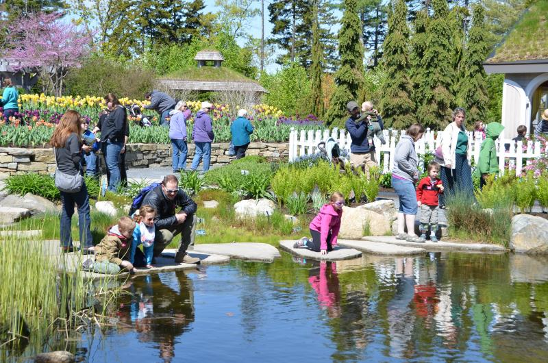 Genial Last Year, Over 6,000 Mainers Explored Coastal Maine Botanical Gardens Over  The Course Of The Three Days. Courtesy Photo