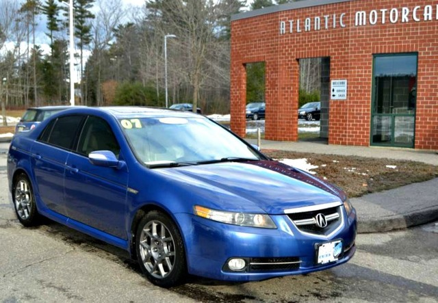 Come Drive This Rare Royal Blue Pearl 2007 Acura Tl Type S Vehicle Is Loaded With Navigation Upgraded Alloy Wheels An Aftermarket 1500 Exhaust
