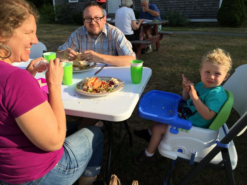 Newcastle Church Supper Fills Clubhouse Picnic Tables Boothbay - 12 person picnic table