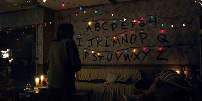 Winona Ryder Stranger Things Lights