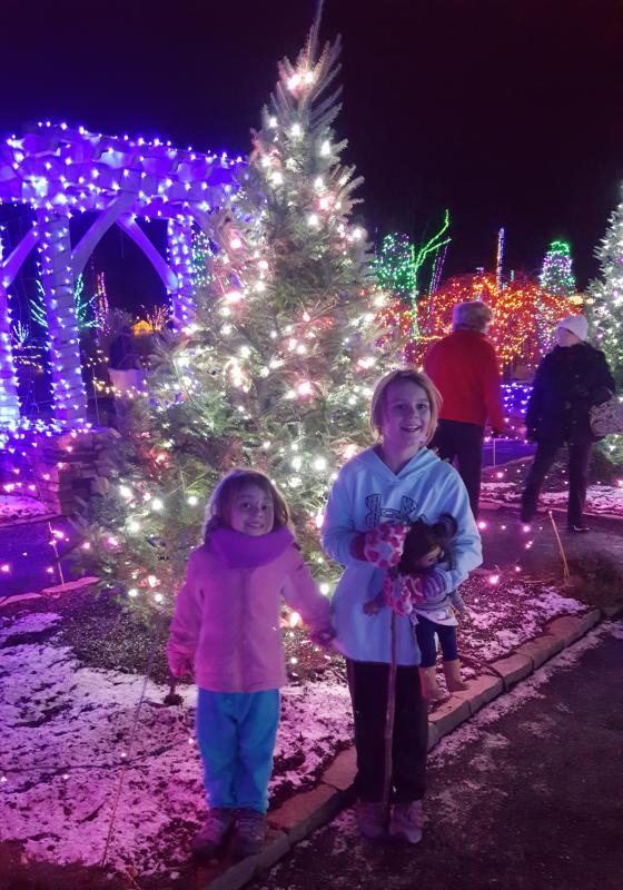 Girls%20at%20the%20Gardens%20Aglow - Coastal Maine Botanical Gardens Promo Code