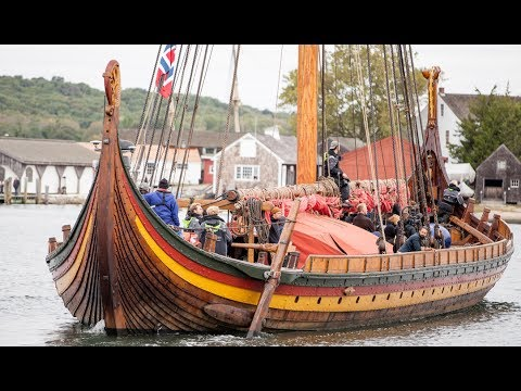 The Largest Modern Built Viking Ship Will Visit Boothbay Harbor From July 13 To 16 Courtesy Photo