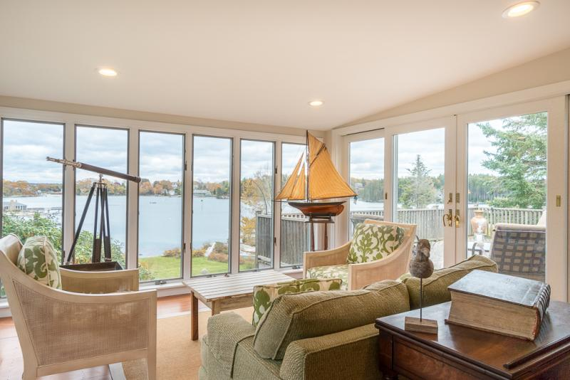 Waterfront Home On Christmas Cove Offered By Newcastle Realty Boothbay Register