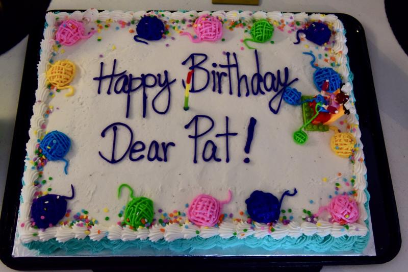 Knitter Friends Celebrate Pat Youngs 90th Birthday