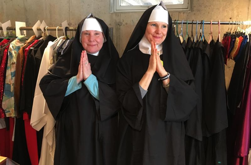 The friends and singing 'Sisters' of the 'Sister Act' community