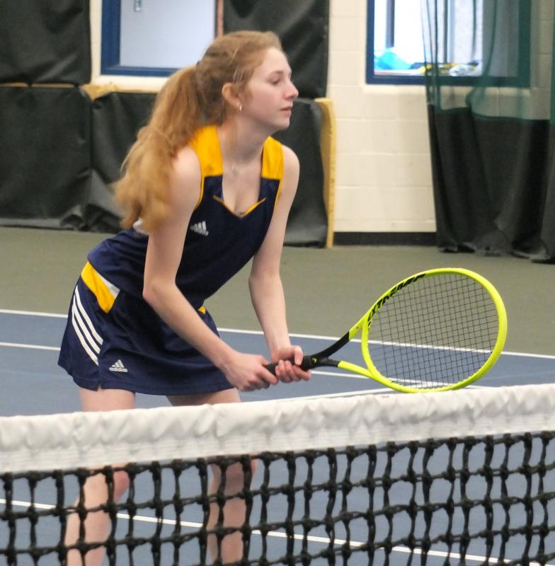 Hall-Dale sweeps Boothbay in girls tennis