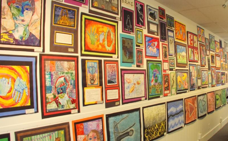 Student Art Show at BRAF | Boothbay Register