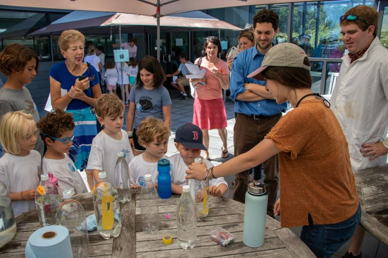 db0f6f35b3 Visitors learn about water density at Bigelow Laboratory for Ocean  Sciences. The Laboratory will hold its annual open house on its campus in  East Boothbay ...