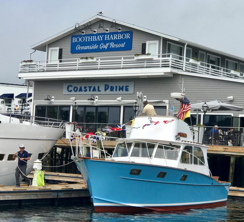 Dock & Dine at Coastal Prime | Boothbay Register
