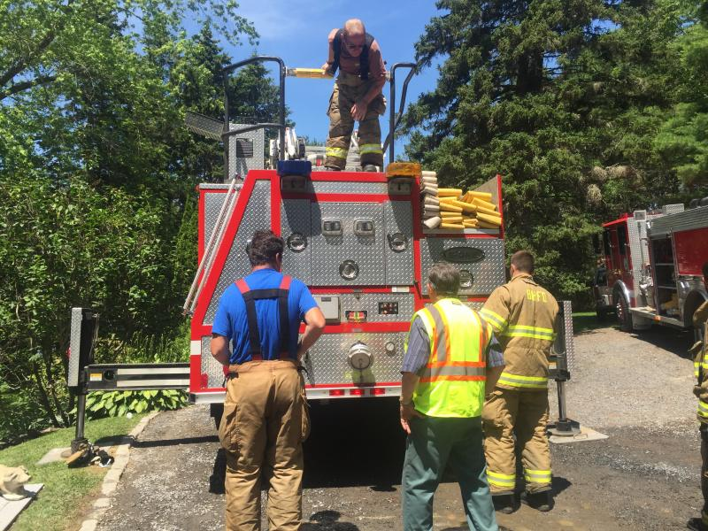 Six Towns Respond To Boothbay Harbor Fire On Logan Road