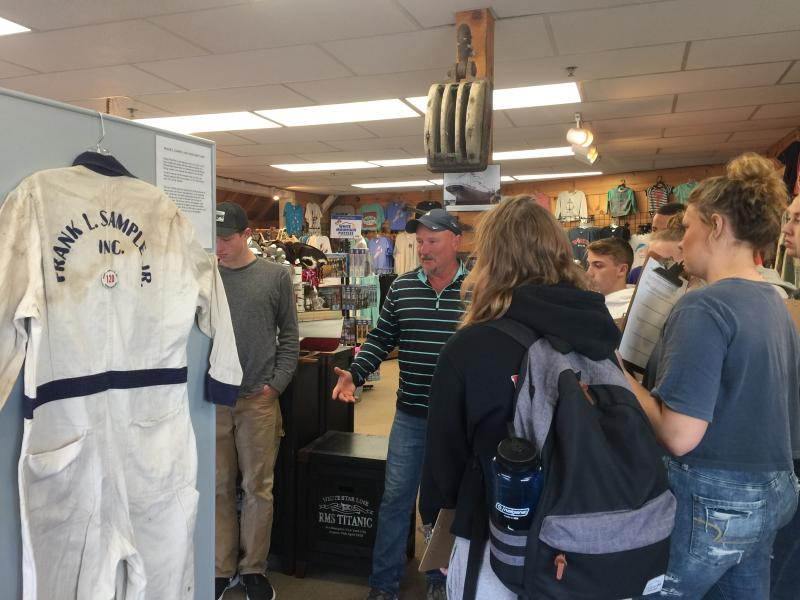 BRHS students tour Windjammer Emporium for project ideas
