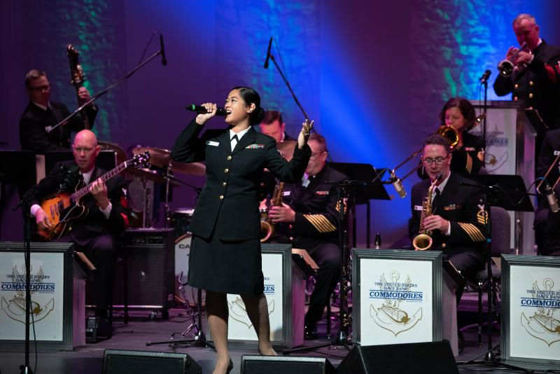 The Commodores U.S. Navy band