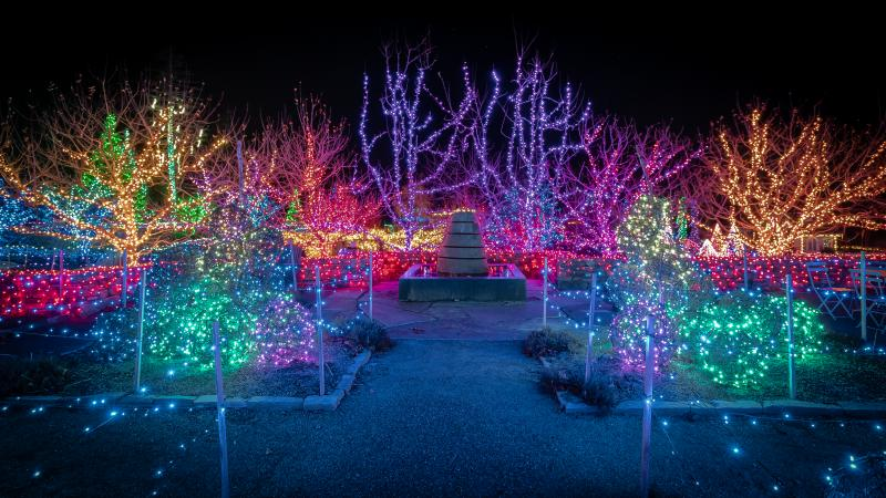 Entries Are Open For The Gardens Aglow Holiday Lighting Contest