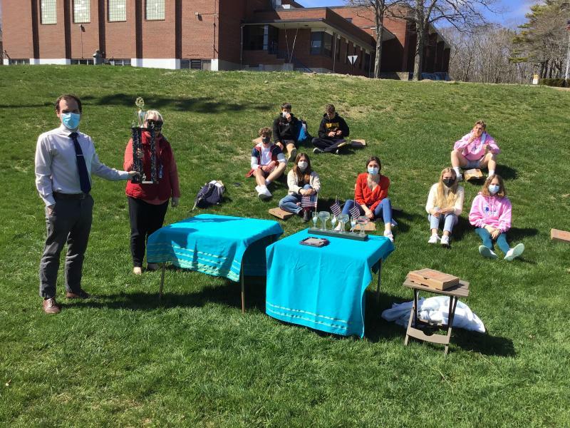 Seahawk math team takes first place