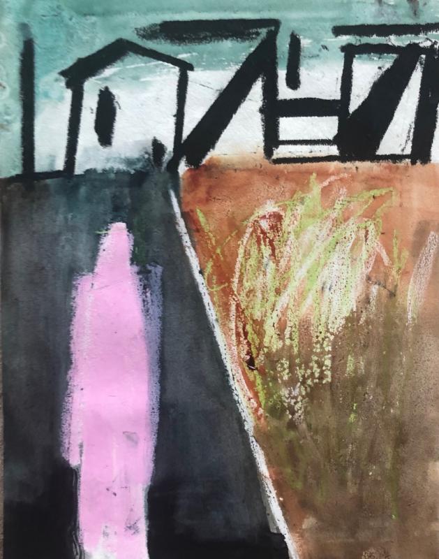 John Vander's summer-themed abstracts