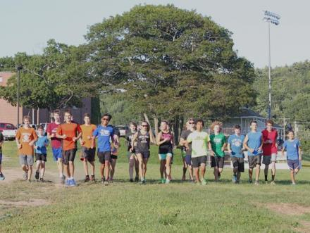 Photo of BRHS cross country teams
