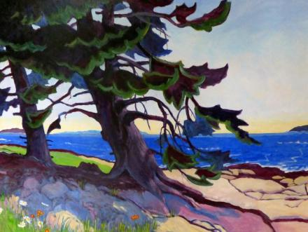 """Andrea Peters' """"The Old Tree in Summer"""""""