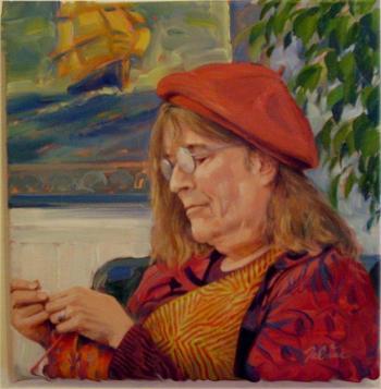 Portrait of June Rose