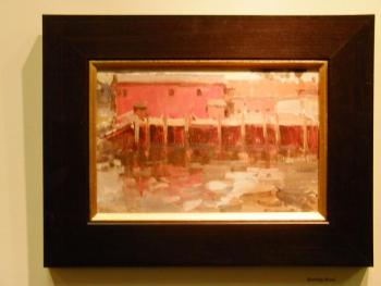 This painting by Anne Blair Brown was one of the first to be sold.