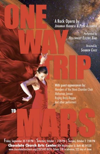 'One Way Trip to Mars': new rock opera on main stage ...