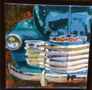 DiTa Ondek's Teal Chevrolet