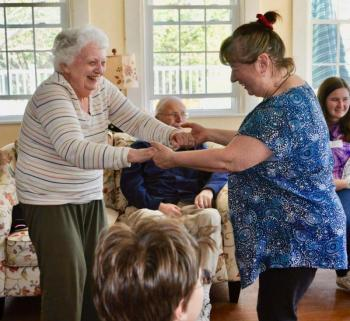 Damariscotta Montessori Lincoln Home's memory loss care community, Harbor View Cottage