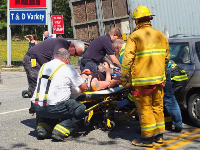 Brownfield Maine Car Accident