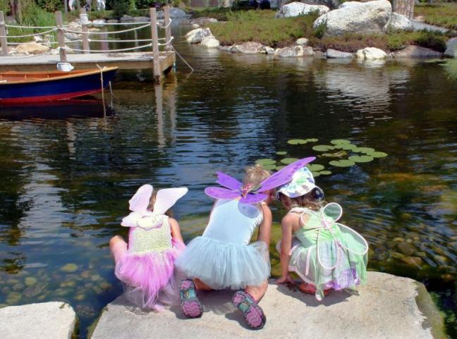 Maine Fairy House Festival at the Maine Botanical Gardens.