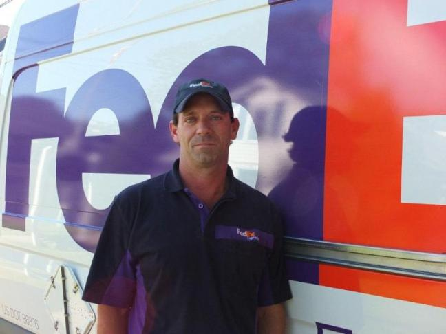 Bob Cochran is a two-time winner of the Maine state truck driving championships. He is preparing for the national championship in August. RYAN LEIGHTON/ Boothbay Register