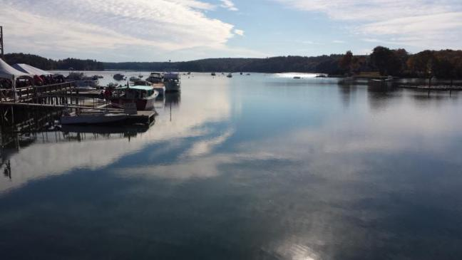 Barge in? Barge out! | Boothbay Register